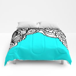 Sky Doodle Comforters
