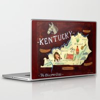 kentucky Laptop & iPad Skins featuring Kentucky by Christiane Engel