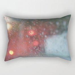 """""""Rain drops vibes"""" Rectangular Pillow"""