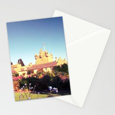 castle flowers. Stationery Cards