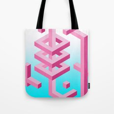 Isometric Adventure Tote Bag