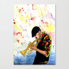 The Colors of Jazz Canvas Print