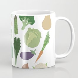 Make Friends With Vegetables Coffee Mug