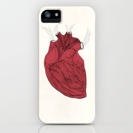 Heart is iPhone Case
