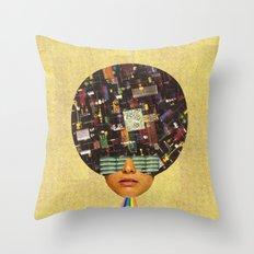 Rhythm is funky Throw Pillow