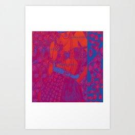 Fashionillustration Art Print