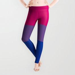 Bisexual Flag Leggings