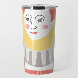 Queen Elizabeth I Portrait Travel Mug
