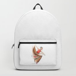 Expressive Dancer Dance Drawing Backpack