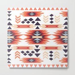American Native Pattern No. 6 Metal Print