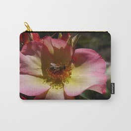Beauty And Bee Carry-All Pouch