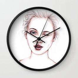 Just Kidding Wall Clock