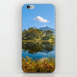Autumn mirror iPhone Skin