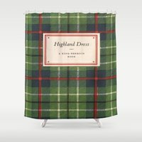 dress Shower Curtains featuring Highland Dress by MW. [by Mathius Wilder]