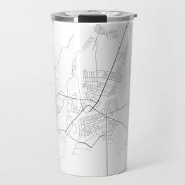 Minimal City Maps - Map Of Orsha, Belarus. Travel Mug