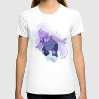 enerjax T-shirts featuring Amethyst - Crystal Gems by enerjax