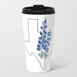 tx // bluebonnet Travel Mug
