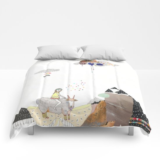 Hermit Crab vs. Snail Comforters