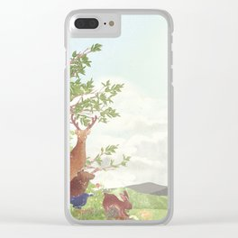 After the sudden shower | Moharu Shirahata Clear iPhone Case