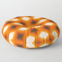 Golden Stack Pattern Floor Pillow