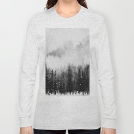 Forest Snow Long Sleeve T-shirt