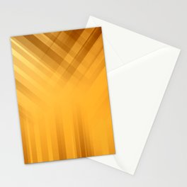Golden Celetial Rays Stationery Cards