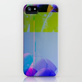Yellow Helter Tide iPhone Case