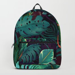 Leaves Tropical Backpack