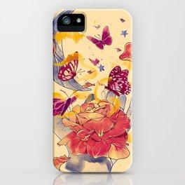 Papillon Ache iPhone Case