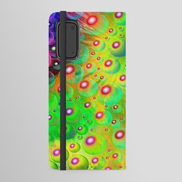 A Crash of Colors, fantasy art Android Wallet Case