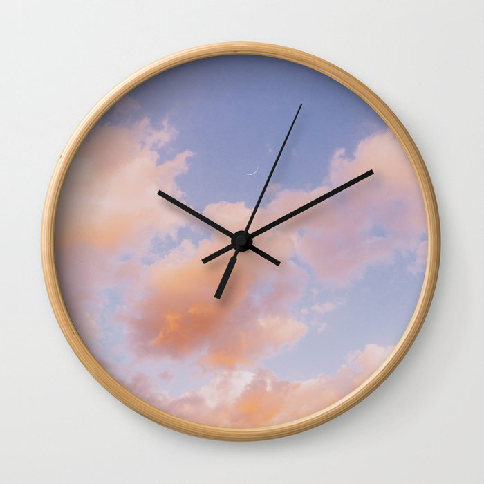 Summer Sky III Wall Clock