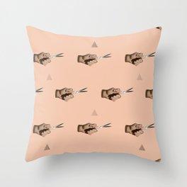 Pattern Cut Throw Pillow