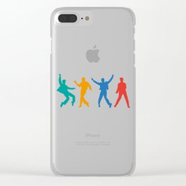 Elvis Clear iPhone Case