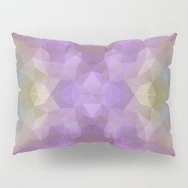 """""""Carnival time"""" triangles design Pillow Sham"""