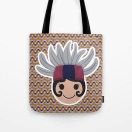 Iconic Headdresses - East Kalimantan (Borneo) Tote Bag