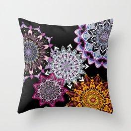 Arsenic & Old Lace - Mandala Throw Pillow