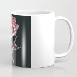 Pink Peace, Love and Music Coffee Mug