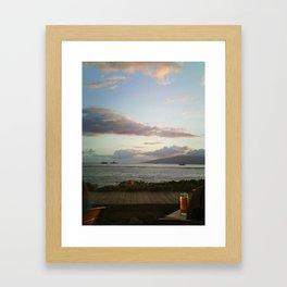Island Dreaming 3 Framed Art Print