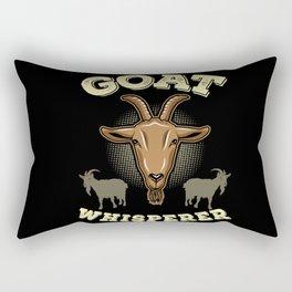 GOAT: Goat Whisperer Rectangular Pillow