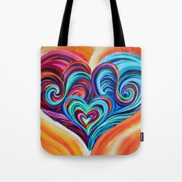 Intertwined Souls Tote Bag