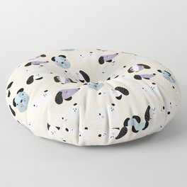 Dog Pattern | Puppy Pet Dog Owner Breed  Floor Pillow