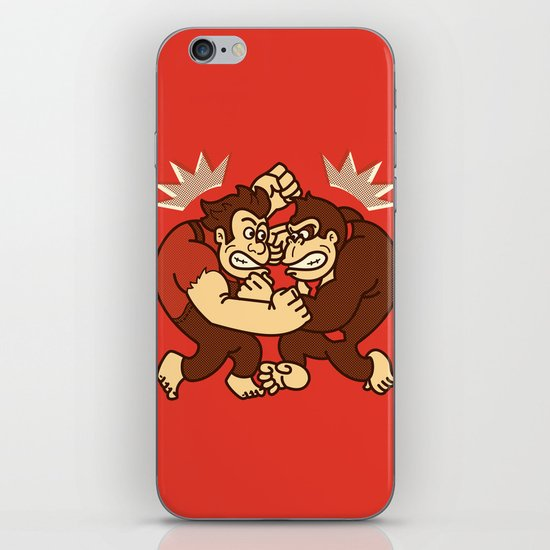 Let's Wreck it! iPhone & iPod Skin