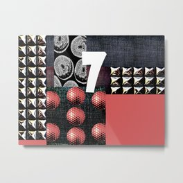 PINK #THE 7 Metal Print