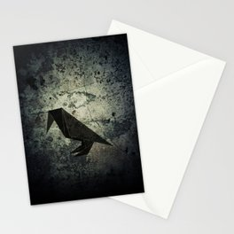 "Collection ""Origami"" impression ""Raven Paper"" Stationery Cards"