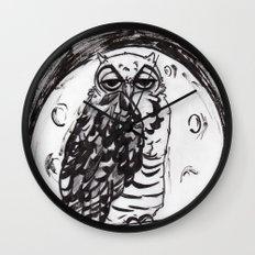 Night Owl v.1 Wall Clock