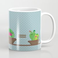 math Mugs featuring Simple math by Maria Jose Da Luz