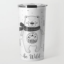 BE WILD! Travel Mug