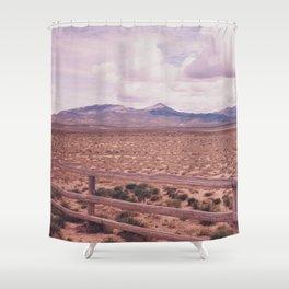 Desert Fence Shower Curtain