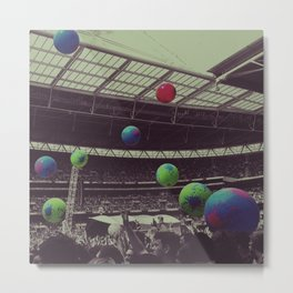 Coldplay at Wembley Metal Print