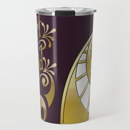 Heart of Gold - wording only Travel Mug